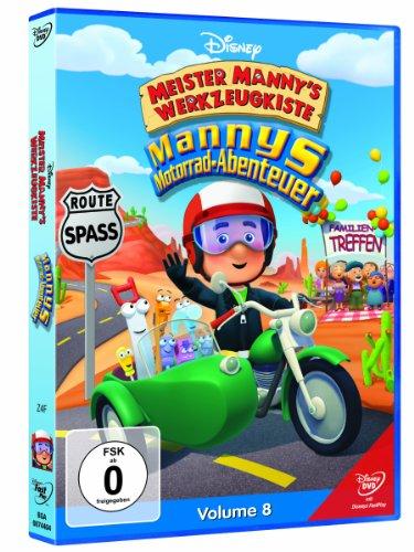 Vol. 8 - Meister Manny's Motorrad-Abenteuer
