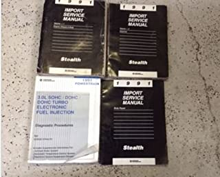 1991 DODGE STEALTH Service Repair Shop Workshop Manual Set W Body + Diagnostic