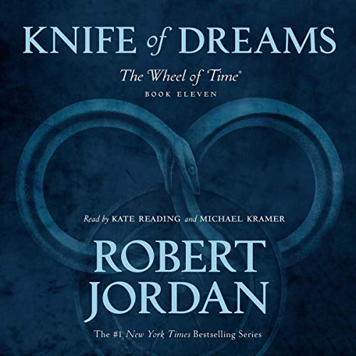 Knife of Dreams audiobook cover art