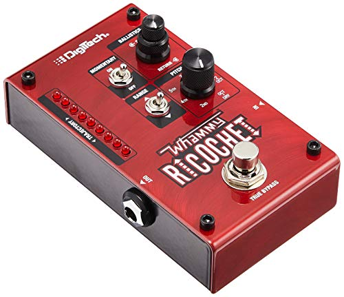 DigiTech D IT Whammy Ricochet Pitch Shift Pedal, Rojo