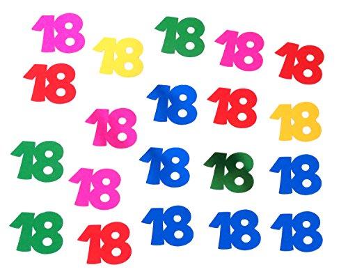 Confettis géants 18 ans