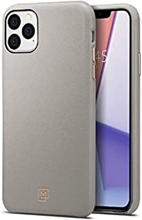 Spigen La Manon Câlin Premium Serisi Kılıf  iPhone 11 Pro Max ile Uyumlu / TPU AirCushion Teknoloji / Ekstra Koruma - Oatmeal Beige