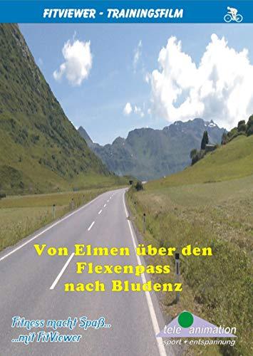 Von Elmen über den Flexenpass nach Bludenz - FitViewer Indoor Video Cycling Österreich