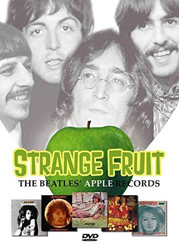 Perris P25TB6072 Sangle de guitare en cuir 6,35 cm Motif The Beatles Apple