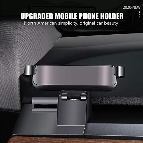 PACEWALKER Soporte para teléfono Tesla modelo 3, soporte para coche para gravedad, con la mayoría de teléfonos inteligentes.