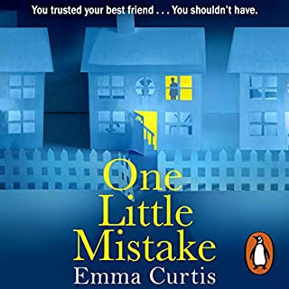 One Little Mistake                   By:                                                                                                                                 Emma Curtis                               Narrated by:                                                                                                                                 Penelope Rawlins                      Length: 11 hrs and 36 mins     391 ratings     Overall 4.4