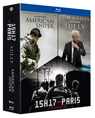 Coffret Eastwood Heroes Blu-ray