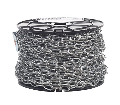 Campbell 0722627#1 X 125' Double Loop Chain Reel