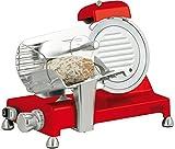 Casselin cortadora de fiambres diámetro 195mm, rojo