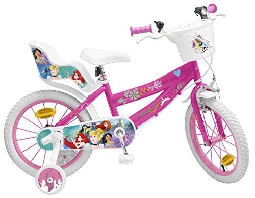 Pik&Roll Prinzessin Mädchen-Fahrrad, 16 Zoll, Rosa
