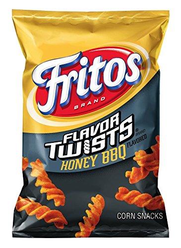 Fritos Flavor Twists Honey BBQ Flavor Corn Chips, 9.75oz (10 Pack)