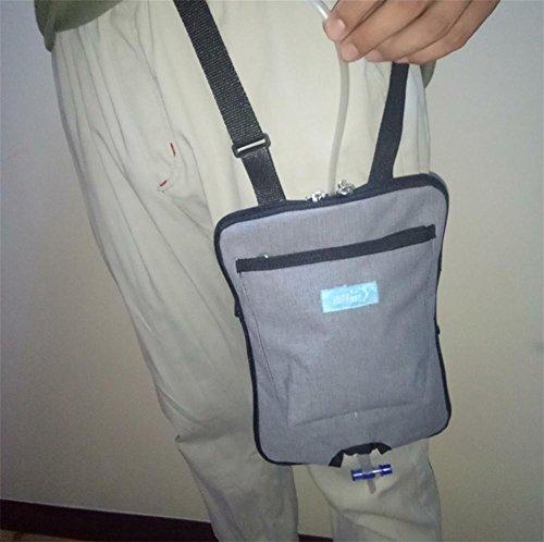 XYLUCKY Inkontinenz-Kit mit Katheter Urin - Blase Kontrollgeräte für Patienten und ältere Menschen - Oblique Rucksack Feste Gürtel