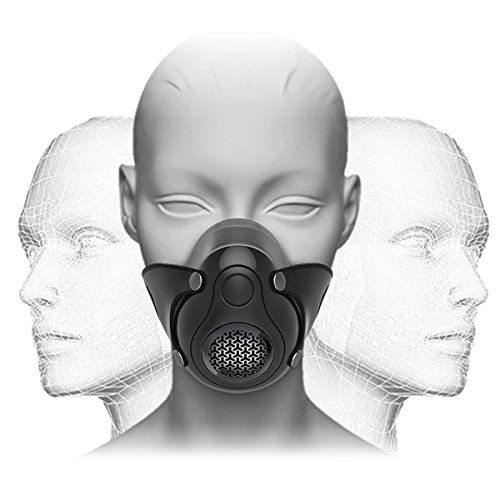 JAY-LONG Altitude Training Equipment Oxygen Breathing Face Mask 2.0...