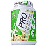 NutraKey V-Pro, Raw Plant Protein Powder with 20g of Protein - Organic, Vegan, Low Carb, Gluten Free Protein - (Banana Nut Bread) 2-Pound