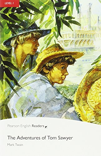 Pearson English Readers 1: The Adventures Of Tom Sawyer Book & CD Pack: Level 1