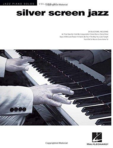 Silver Screen Jazz: Jazz Piano Solos Series Volume 37