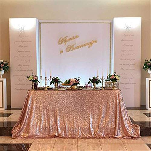 Best tablecloth sequin 90×132 for 2020