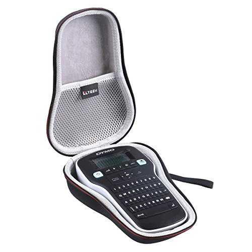 LTGEM EVA Estuche duro Cubrir Transporte de viajes Case para DYMO Labelmanager 160/280 Etiquetadora Handheld Label Maker
