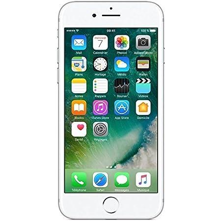 Apple iPhone 7, Smartphone 32 GB, Plata (Reacondicionado)