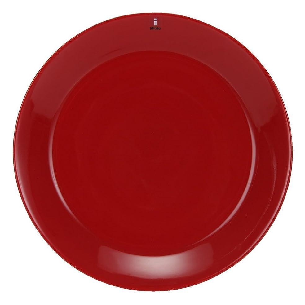 場合直立古い[ イッタラ ] Iittala ティーマ Teema 21cm プレート 北欧 フィンランド 食器 皿 インテリア キッチン 北欧雑貨 新生活 Plate (レッド) [並行輸入品]