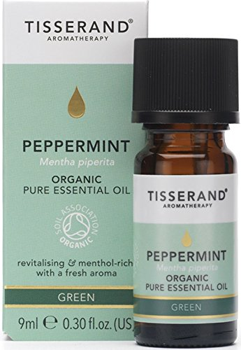 Tisserand Aromatherapy Organic Peppermint Essential Oil, 1er Pack (1 x 9 g)