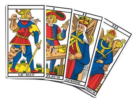 Mini Tarot de Marseille de Poche - Jeu de Cartes divinatoires à découvrir