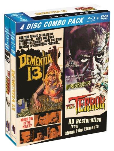 Terror / Dementia 13 (4 Blu-Ray) [Edizione: Stati Uniti] [Reino Unido] [Blu-ray]
