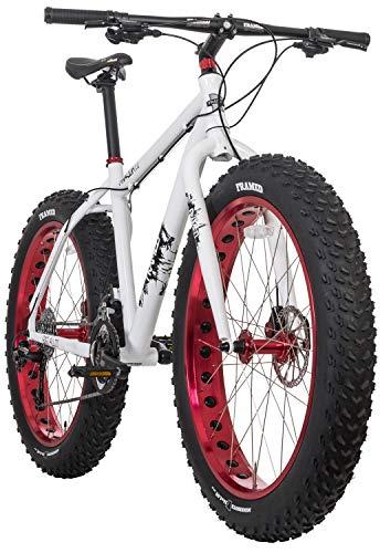 Framed Minnesota 2.0 Fat Bike White/Red Sz 20'