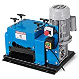 Happybuy Wire Stripping Machine 1/13 Inch to 5/3 Inch OD Scrap Wire Stripping Tool 9 Channels 13 Blades Copper Recycling Machine