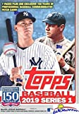 2019 Topps Series 1 MLB Baseball EXCLUSIVE Factory Sealed Retail Box with 98 Cards & SPECIAL MLB 150th...