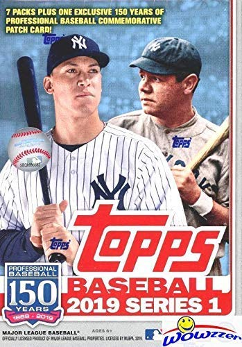 2019 Topps Series 1 MLB Baseball EXCLUSIVE Factory Sealed Retail Box with...