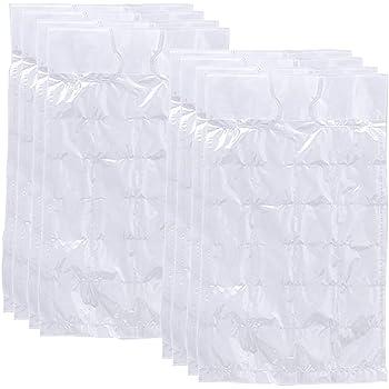 fino a 1200 cubetti di ghiaccio pronti per bevande fredde COM-FOUR/® 50x Sacchetti per cubetti di ghiaccio