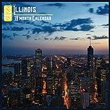 Illinois Calendar 2022: 18 Month Calendar Illinois, Square Calendar 2022, Cute Gift Idea For Illinois Lovers Women & Men, Size 8.5 x 8.5 Inch Monthly