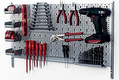 Element System 66847 Kit Garage, Grigio, 800 x 200 mm, 23 Pezzi