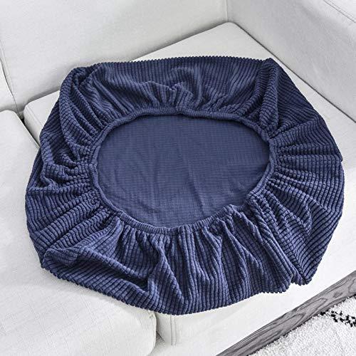 protector de muebles,Funda de cojín para asiento de sofá, fundas de sofá elásticas para sala de estar, fundas para sillas, mascotas, niños, protector de muebles, azul marino, longitud 150-190 cm