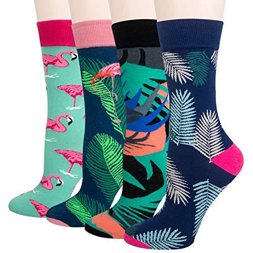 Chalier Calcetines divertidos para hombre del arte de la novedad divertida, grandes regalos para los hombres, los EEUU 8-12 / UE 39-46