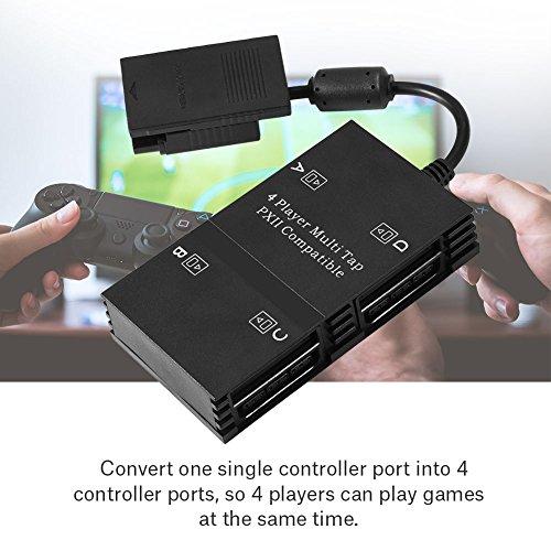 『2用 PS2用 マルチタップ 4人プレイ可能 プコントローラーアダプター WIN 98 /2K / XP/Vista/Win 7対応でき』の7枚目の画像