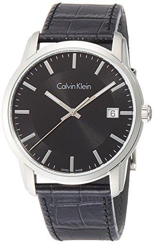 Calvin Klein Reloj Digital para Hombre de Cuarzo con Correa en Cuero K5S311C1