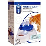 Catit Fresh & Clear - Fuente para Beber para Gatos y Cachorros