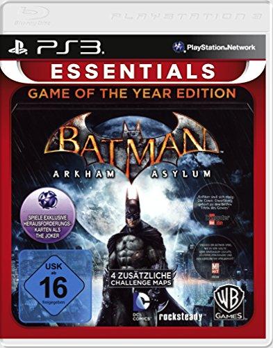Batman: Arkham Asylum Game of the Year Edition PS3 [German Version] [Importación Inglesa]