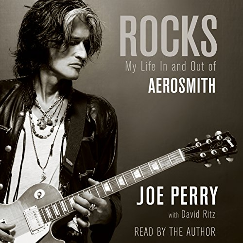 Rocks     My Life in and out of Aerosmith              By:                                                                                                                                 Joe Perry,                                                                                        David Ritz                               Narrated by:                                                                                                                                 Joe Perry                      Length: 14 hrs and 20 mins     510 ratings     Overall 4.5