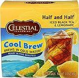 CELESTIAL SEASONINGS Half Black Tea Lemonade Cool Brew, 40 CT