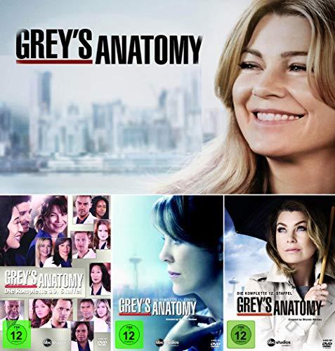 Grey's Anatomy: Die jungen Ärzte - Die komplette 10. + 11. + 12. Staffel