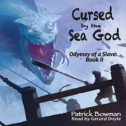Cursed by the Sea God audiobook cover art