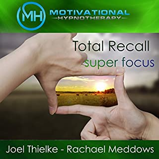 Total Recall: Photographic Memory     Hypnosis, Meditation, and Music              By:                                                                                                                                 Motivational Hypnotherapy                               Narrated by:                                                                                                                                 Joel Thielke,                                                                                        Rachael Meddows                      Length: 4 hrs and 59 mins     2 ratings     Overall 3.5