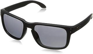 Oakley Men's Holbrook Non-Polarized Iridium Square Sunglasses, Matte Black, 57.0 mm
