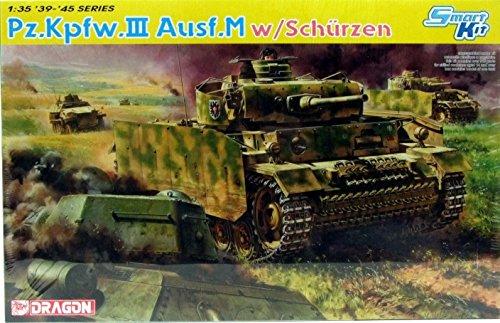 1:35 Pz.Kpfw.III Ausf.M Avec Schurzen Model Kit 6604