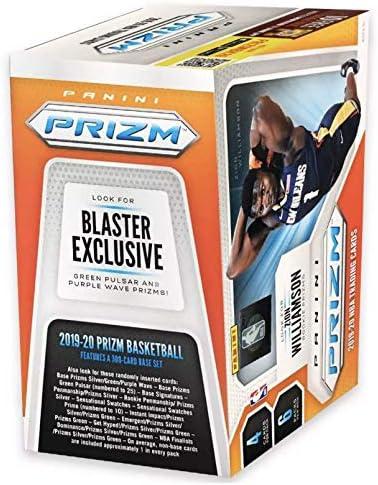 2019-20 Panini PRIZM Basketball Blaster Box - 1 Autograph or Memorabilia Card Per Box - Find Zion Williamson Prizm Rookie Cards!