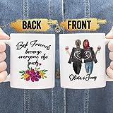 Nalips Personalized Friend Mug, Friends Because Everyone Else Sucks, Best Friend Mug, BFF Gift, Personalized Best Friend Gift, BFF Mug
