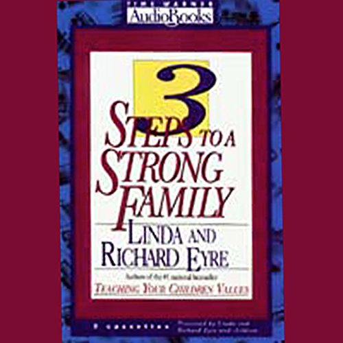 3 Steps to a Strong Family  By  cover art